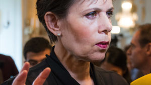 Sara Danius, Svenska Akademiens ständiga sekreterare.