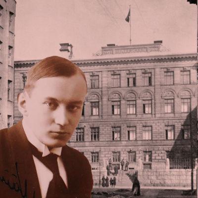 Kuvia Helsingin valtauksesta. Ruotsalainen reaalilyseo 12.4.1918.