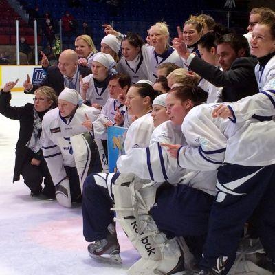 Finlands guldlag i ringette-VM 2013.