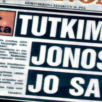 Ensimmäinen AIDSiin sairastunut todettiin Suomessa 1983. Tautiin ei ollut hoitoa, se johti aina kuolemaan.