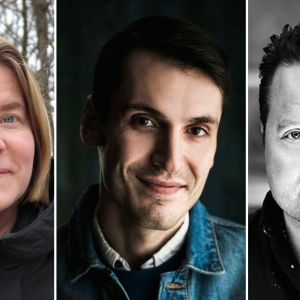 Heidi von Wright, Pajtim Statovci och Sebastian Johans.
