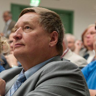 Keskustan kansanedustaja Markku Rossi