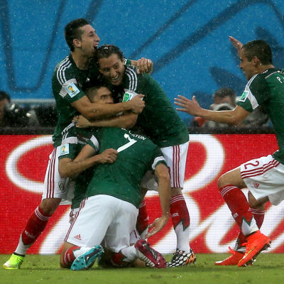 mexiko firar sitt mål