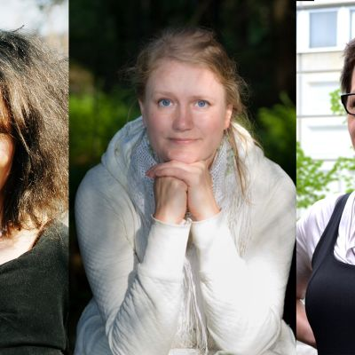 Monika Fagerholm, Pipsa Lonka, Tiina Luoma