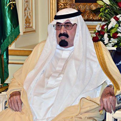 Saudiarabiens kung Abdullah