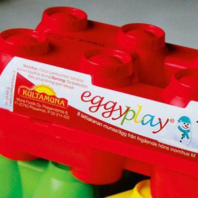 Äggförpackning i plast