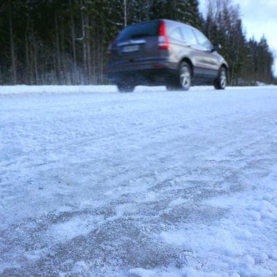 vinterväder på vägarna