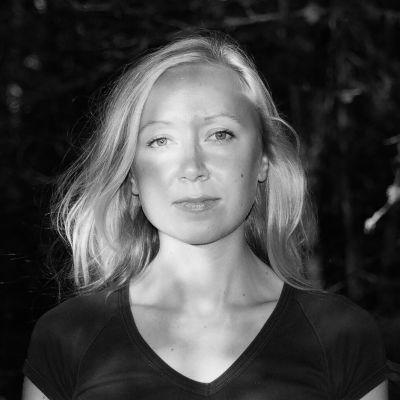 Lyrikern Catharina Gripenberg.