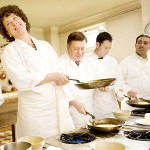 Meryl Streep som kocken och kokboksförfattaren Julia Childs i filmen Julie & Julia.
