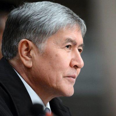Kirgisian ex-presidentti Almazbek Atambajev