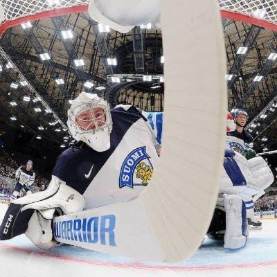 Mikko Koskinen i målet.
