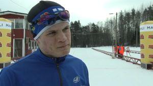 Rikhard Mäki-Heikkilä under FSSM i Lovisa