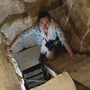 Egyptolog Carolin Johansson