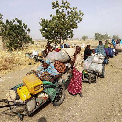 Säkerhetsstyrkor räddade i januari 700 människor som hade kidnappats av Boko Haram