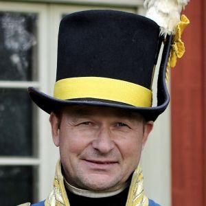 Göran Backman i kaptensuniform
