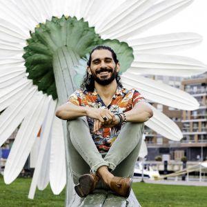 Modeskaparen Bahaulddin Rawi i Åbo.