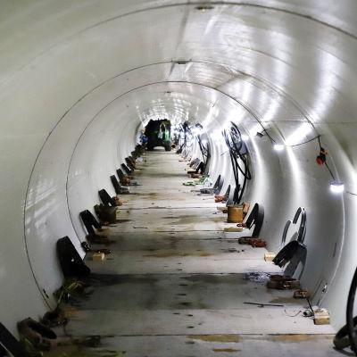 Turun seudun puhdistamon uuden poistoputken tunneli.