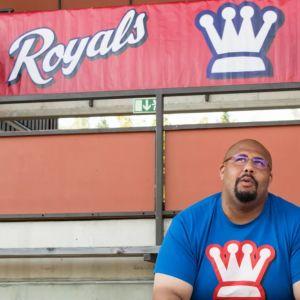 Seppo Evwaraye är eldsjälen bakom Wasa Royals.