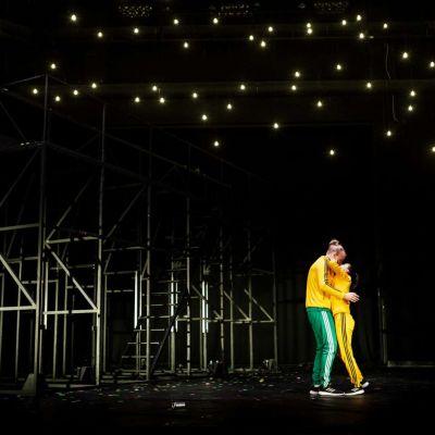 Romeo och Julia på scenen.