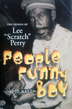 Omslaget till Lee Perry-biografin, People Funny Boy