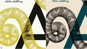 Bokpärm i två färger