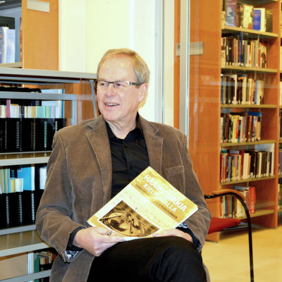 Heikki Nikula, kulturpristagare i Jakobstad.