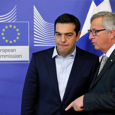 Alexis Tsipras , Jean-Claude Juncker