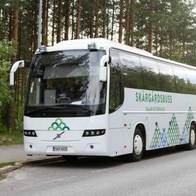 TLO:s nya skärgårdsbuss, juni 2016.