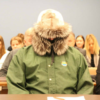 Den dömde under rättsbehandlingen i  Norra Karelens tingsrätt.