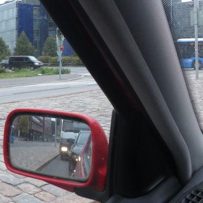 bil i stadstrafik
