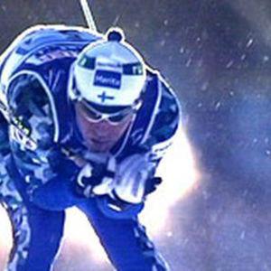 Mika Myllylä miesten MM-viestissä 2001