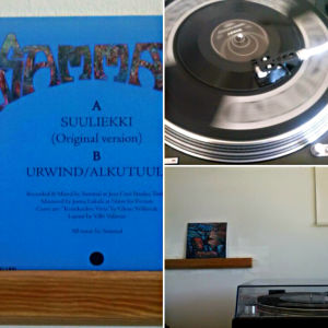 Sjutums singel av Sammal: Suuliekki - Urwind/Alkutuuli