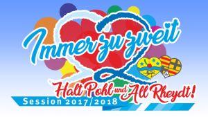 Motto för karnevalsfirandet i Mönchengladbach år 2017/18