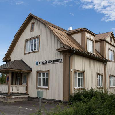 Kyyjärven kunnantalo.