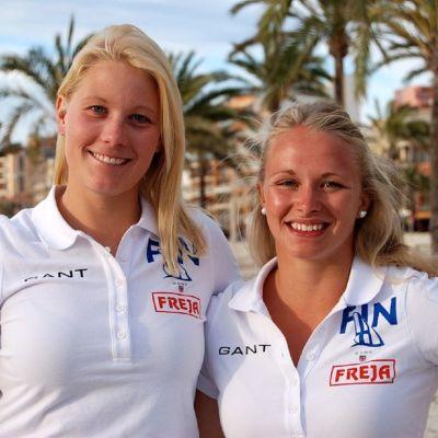 Camilla Cedercreutz (t.v.) och Noora Ruskola.
