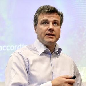 Juhani Hintikka, tidigare direktör vid Comptel