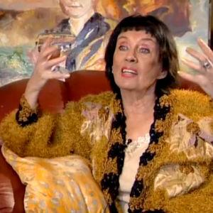 Liana Kaarina Leskinen haastattelussa 2009.