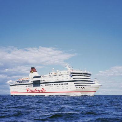 Viking Lines Cinderella-kryssningsfartyg.