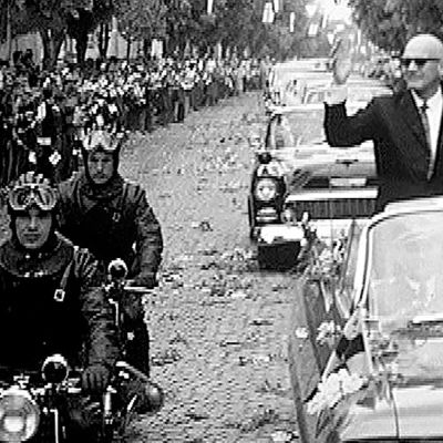 Urho Kekkonen ja Tito Jugoslaviassa