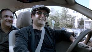 Jafar Panahi, regissör för den iranska filmen Taxi