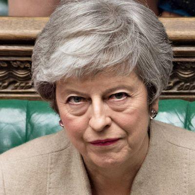 Brittiparlamentti hylkäsi pääministeri Theresa Mayn EU-erosopimuksen kolmannessa äänestyksessään selvin luvuin perjantaina 29. maaliskuuta 2019.
