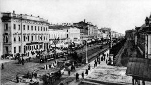Nevski prospekt 1800-luvun lopulla