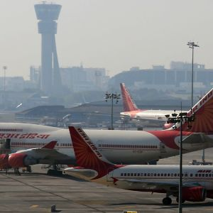 Air India plan i Indien.