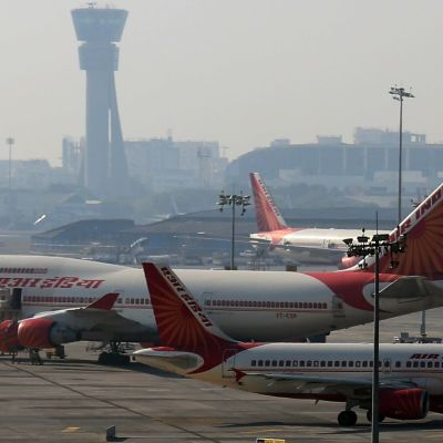 Air India plan i Indien.