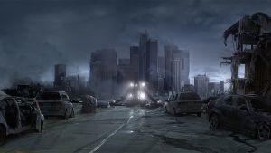 Postapokalyptisk stad