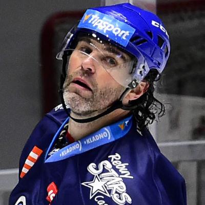 Jaromir Jagr i tjeckiska ligan.