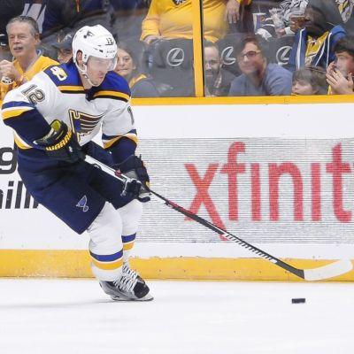 Jori Lehterä spelar för St. Louis Blues i NHL.