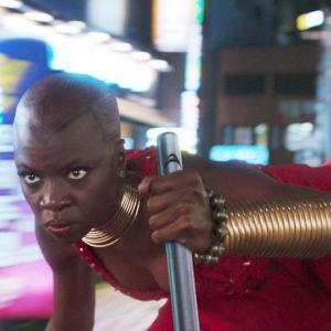 Danai Gurira elokuvassa Black Panther