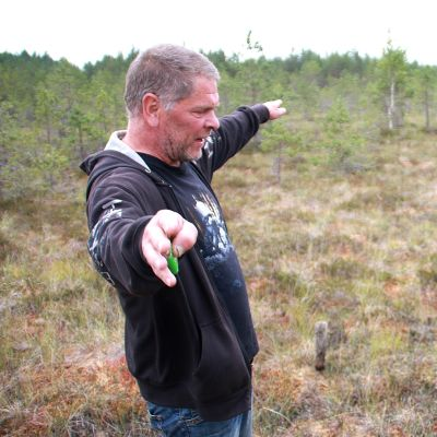 Ilpo Suoknuuti ja Markku Korpela, Miehikkälä, Vaajersuo