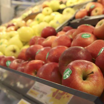 Omenoita ruokakauppa coopissa Haaparannalla
